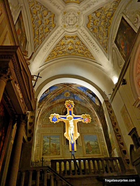 Crucifixo de Giotto na Igreja de Ognisanti, Florença