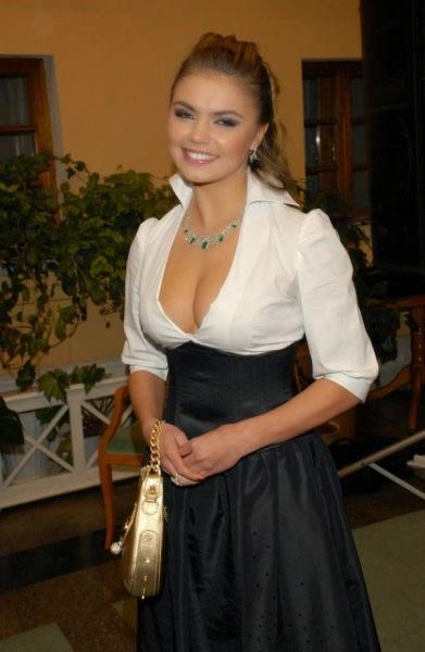 Vladimir Putin's Girlfriend Alina Kabaeva photos - Telecrop