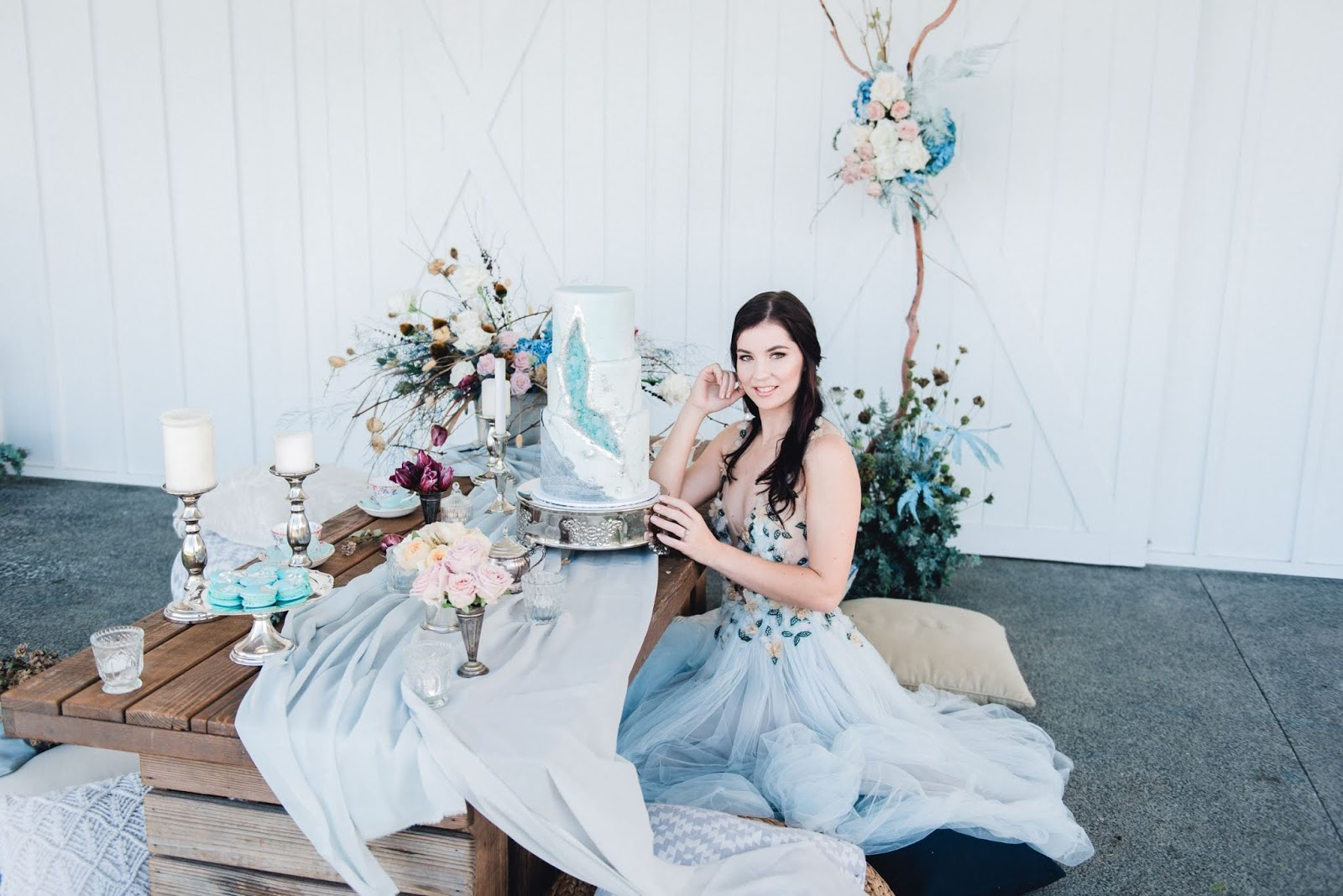 STYLED: ALICE IN WONDERLAND   INCLUDING BLUE IN YOUR YOUR WEDDING DAY GOLD COAST QLD