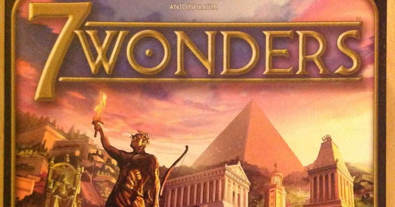 The Critical Boardgamer: 7 Wonders Review image