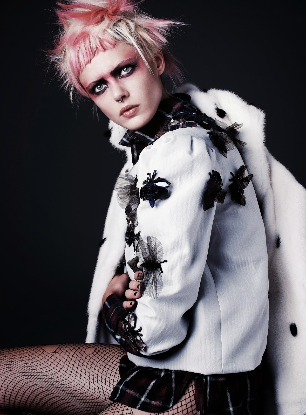 Punk Attitude Frida Gustavsson By Steven Pan For Flair 6