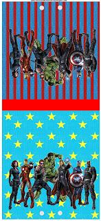 Os Vingadores Kit Completo Com Molduras Para Convites Rotulos