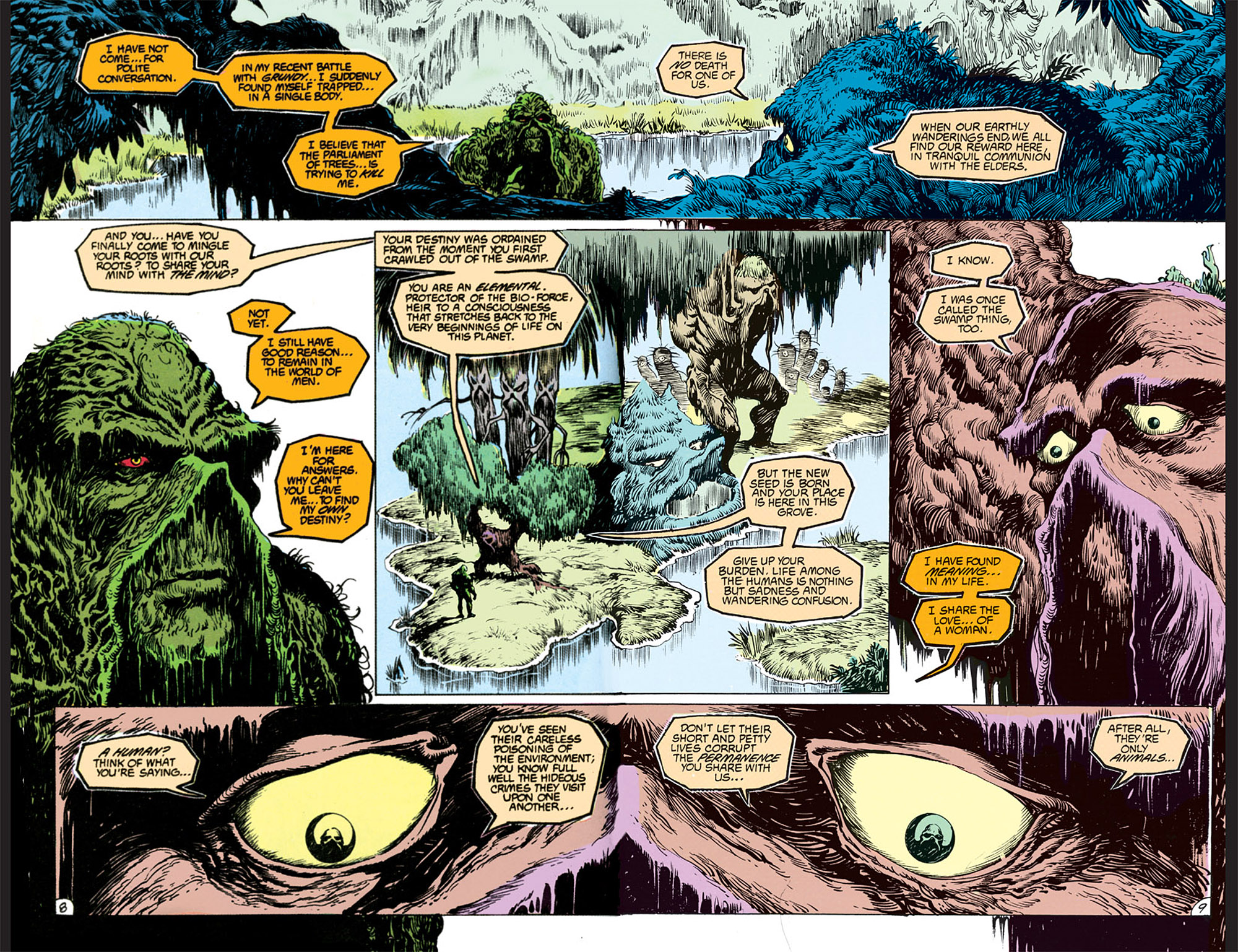 Swamp Thing (1982) Issue #68 #76 - English 8