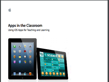 An Excellent Guide from Apple to Help You Evaluate Educational Apps to Use in Class