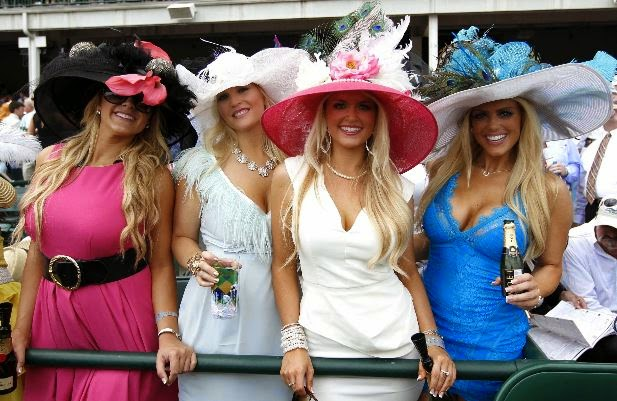 As to why women wear these hats to the Derby d93995d505c