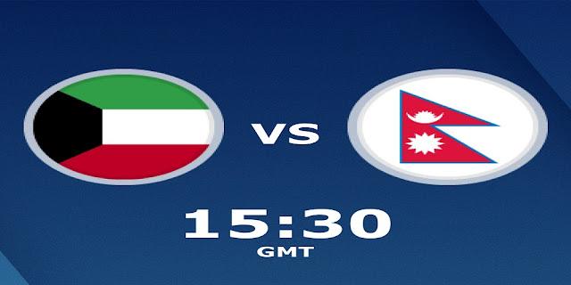مشاهدة مباراة الكويت ونيبال بث مباشر بتاريخ 05-09-2019 تصفيات آسيا المؤهلة لكأس العالم 2022