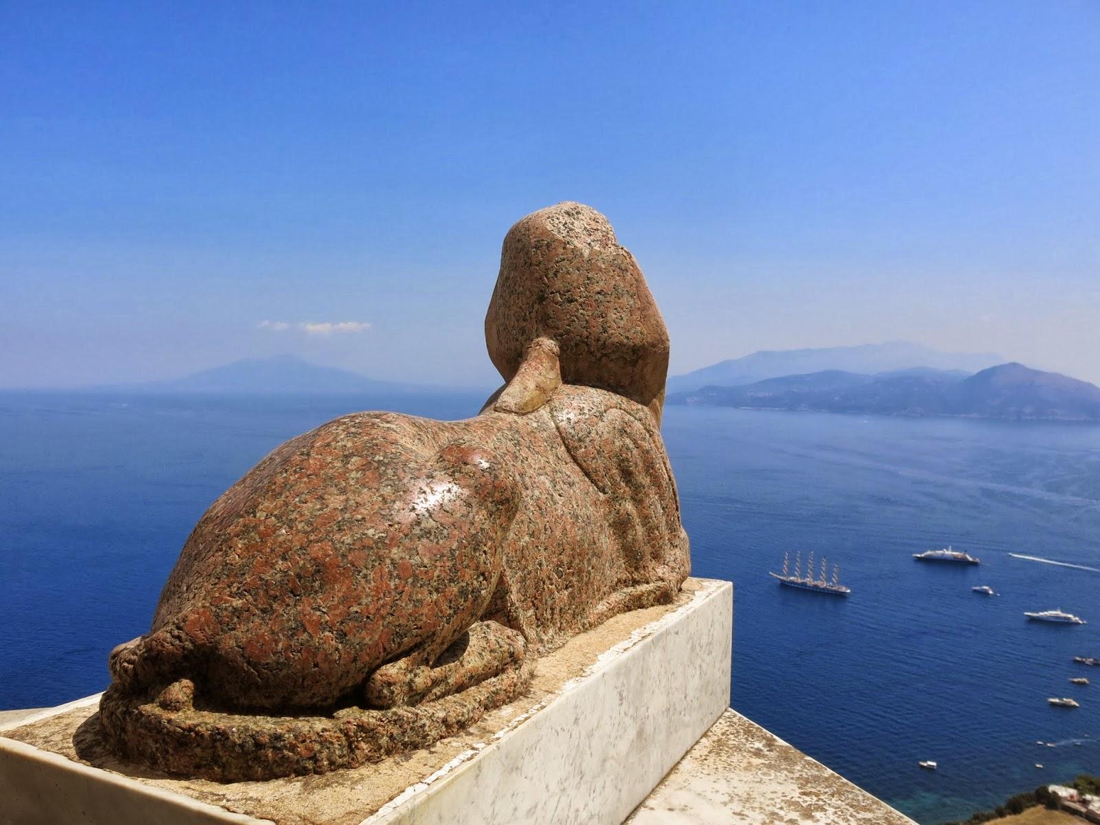 Villa San Michele på Capri i Italien