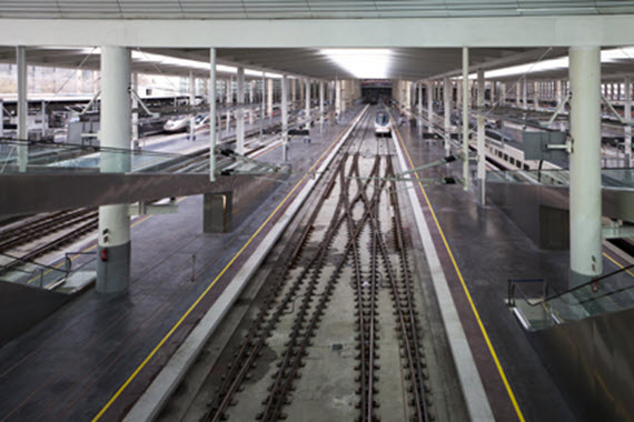 Cambios en trenes renfe en atocha por obras s bados hasta for Oficina de empleo atocha