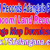 Telangana TS Land Records Village Map Download mabhoomi.telangana.gov.in