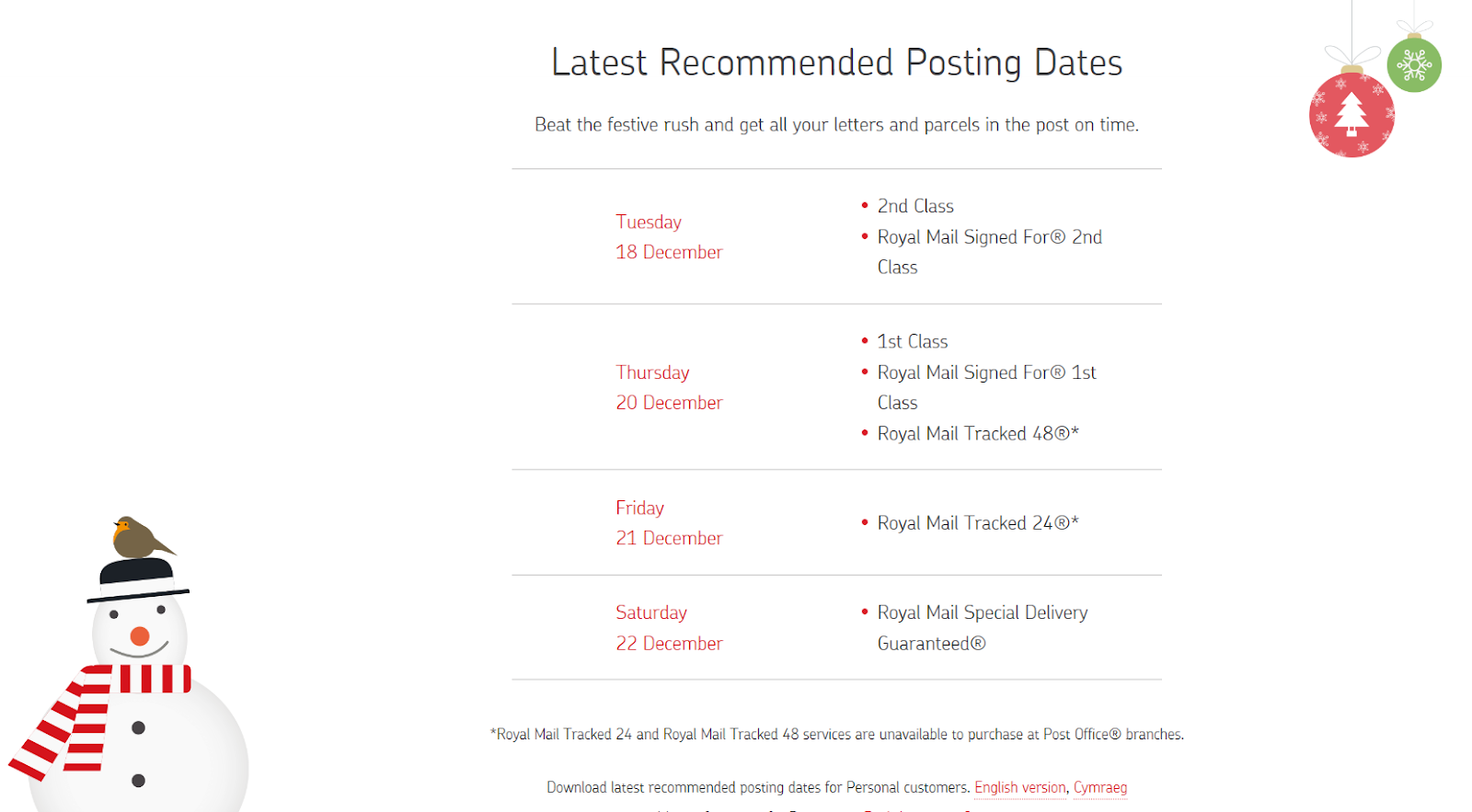 Chatham hive christmas last recommended posting dates uk httpsroyalmailgreetings m4hsunfo