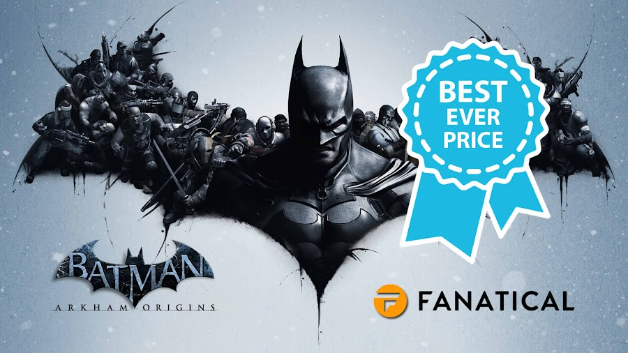 batman arkham origins fanatical best deal
