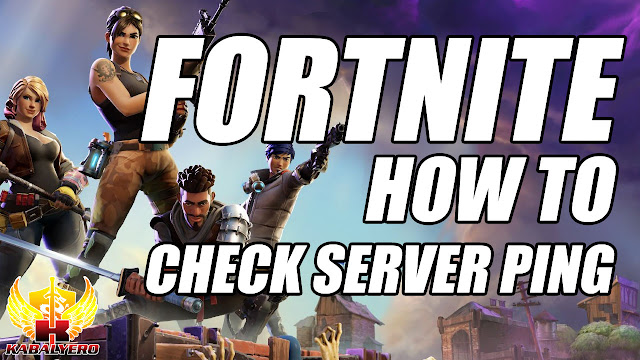 FORTNITE, Check Server Ping, HOW TO?
