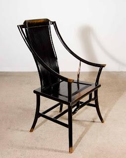 Diseño de silla asiático