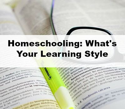 Homeschooling Learning Style