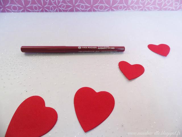 crayon à lèvres Yves Rocher
