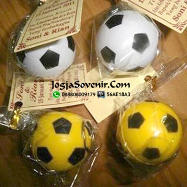 Jual Souvenir Gantungan Kunci Bola