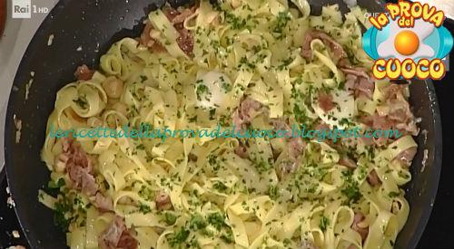Tagliatelle con burro e nocciole ricetta Messeri da Prova del Cuoco