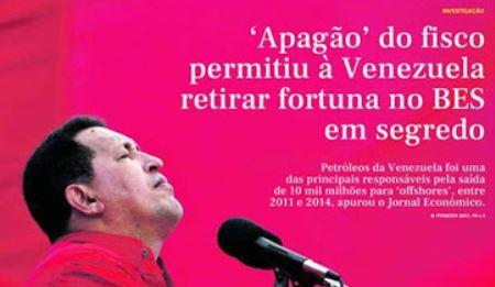 PDVSA usó al banco Espíritu Santo de Portugal para desviar muchos millones de dólares