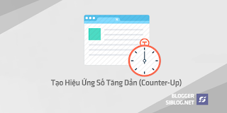 Counter-Up, Counter-UpDown, Counter-Up Jquery Plugin, CounterUp, Hiệu Ứng Số Tăng Dần, Tạo Hiệu Ứng Số Tăng Dần (Counter-Up) Cho Blogspot
