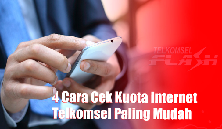 4 Cara Cek Kuota Internet Telkomsel Paling Mudah