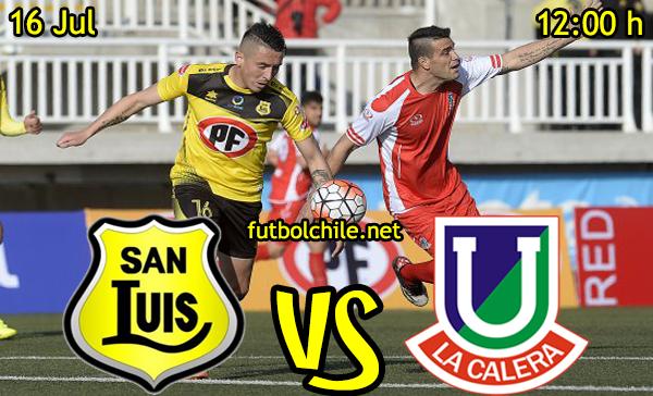 VER STREAM YOUTUBE RESULTADO EN VIVO, ONLINE: San Luis vs Unión La Calera