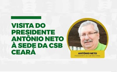 Presidente Antonio Neto visita a Seccional Ceará