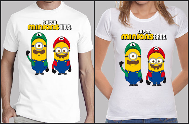 Camiseta SUPER MINIONS BROS
