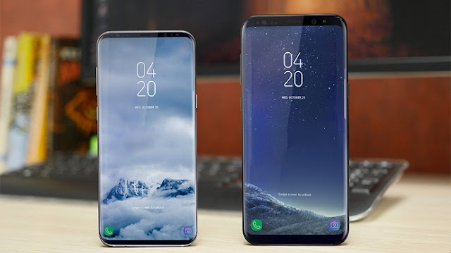 Launch of the Samsung Galaxy S9 and Galaxy S9 + smartphone