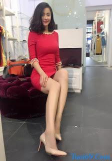 Huyền Vicky: Chân dài, dáng lại ngon nữa...Hoàn hảo^^