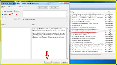 Cara Disable Right Click Di Desktop Windows 7