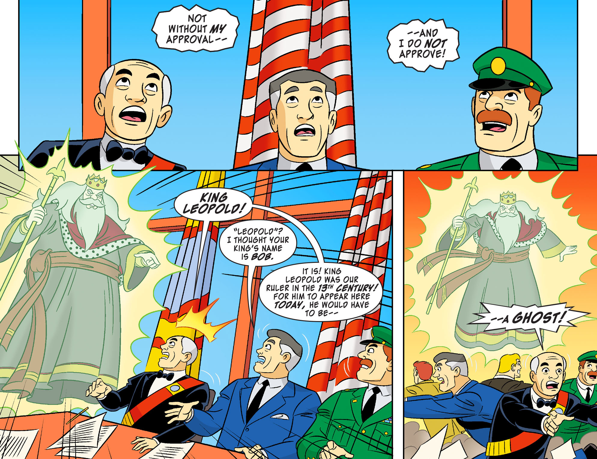 Read online Scooby-Doo! Team-Up comic -  Issue #21 - 4