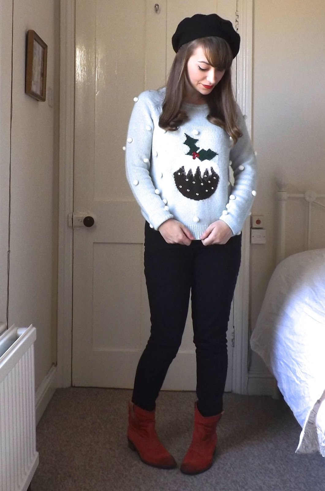 Outfit Christmas Jumper Day Cici Marie