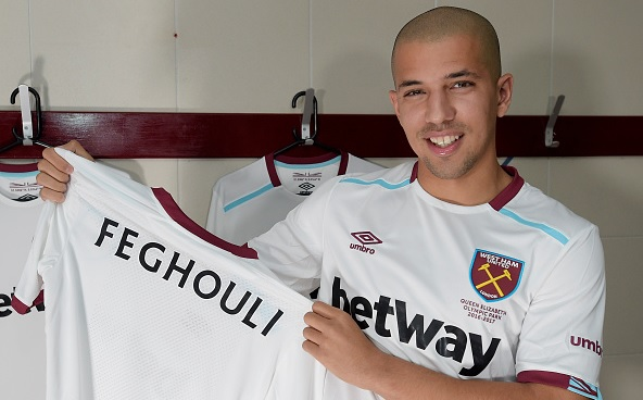 West Ham seal former Valencia attacker Sofiane Feghouli