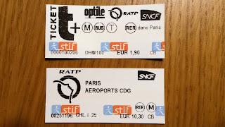 Paryż. Bilety na metro, kolejkę RER i autobus