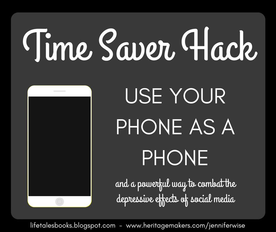 LifeTalesBooks Personal Publishing: Time Saver Hack: Use