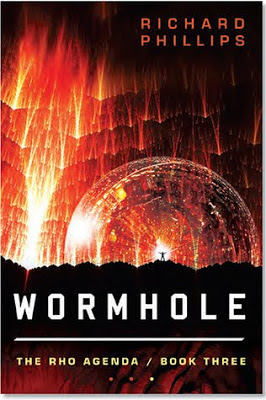 Wormhole by Richard Phillips - book cover