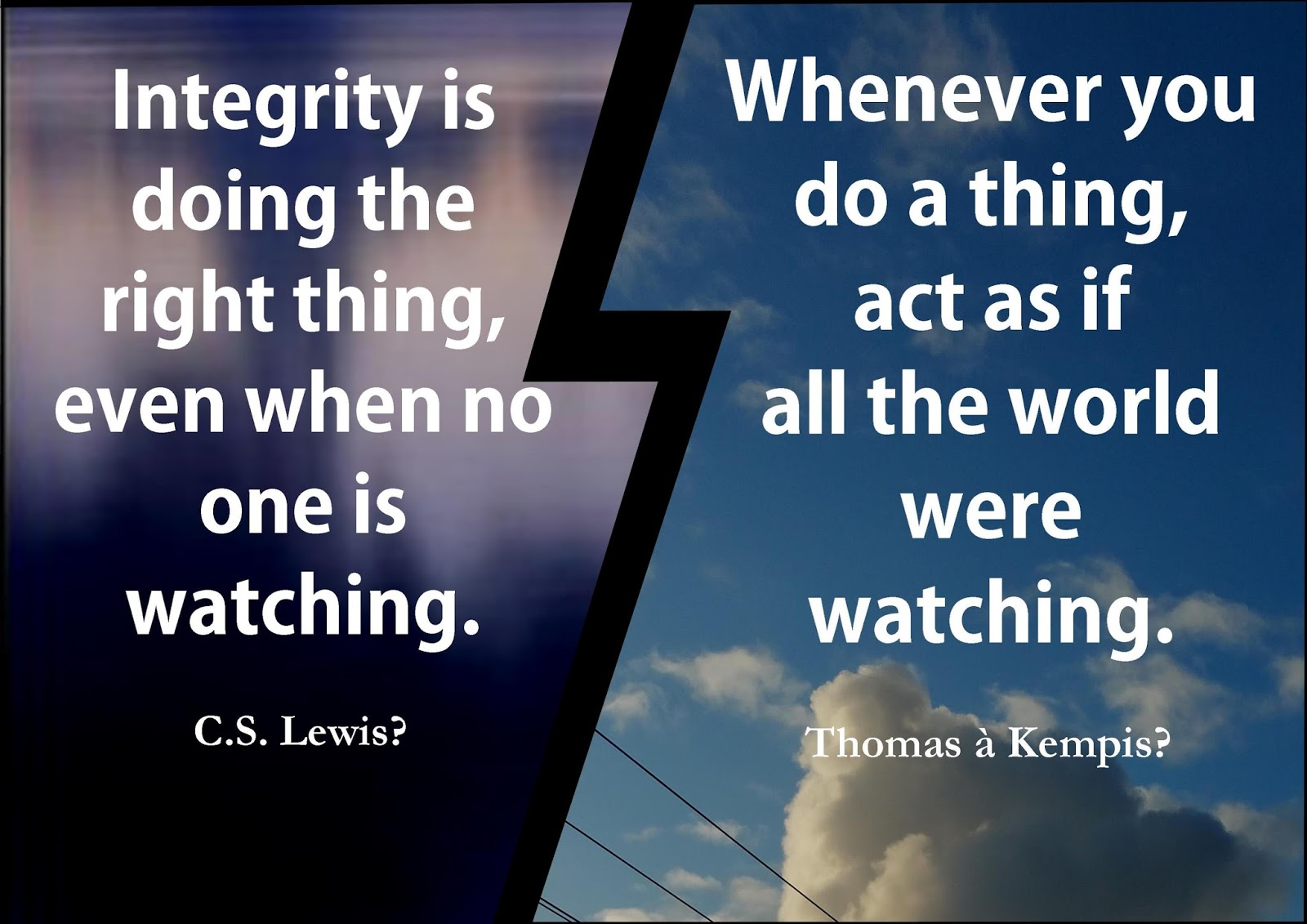 Acts Of Leadership Integrity Is Doing The Right Thing Even When No