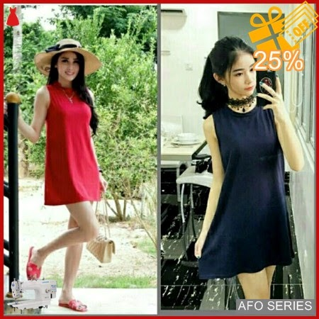 AFO652 Model Fashion Dress Dian Modis Murah BMGShop