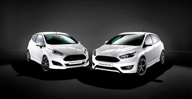 Ford Focus и Fiesta ST Line