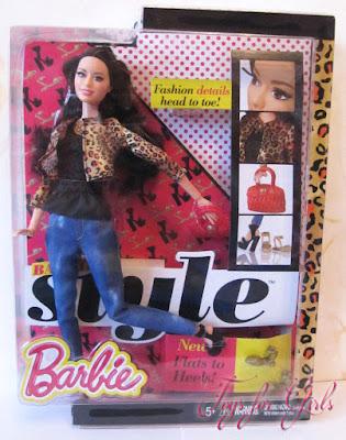 Ракель - шарнирная кукла Барби с телом barbie fashionistas