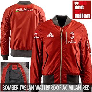 Jaket Bomber Jokowi AC Milan