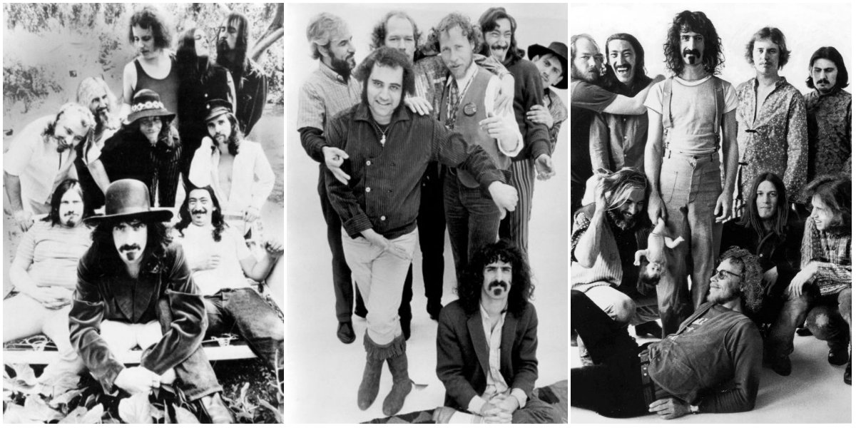 23 Vintage Photos of Frank Zappa and the Mothers of Invention in the 1960s and 1970s