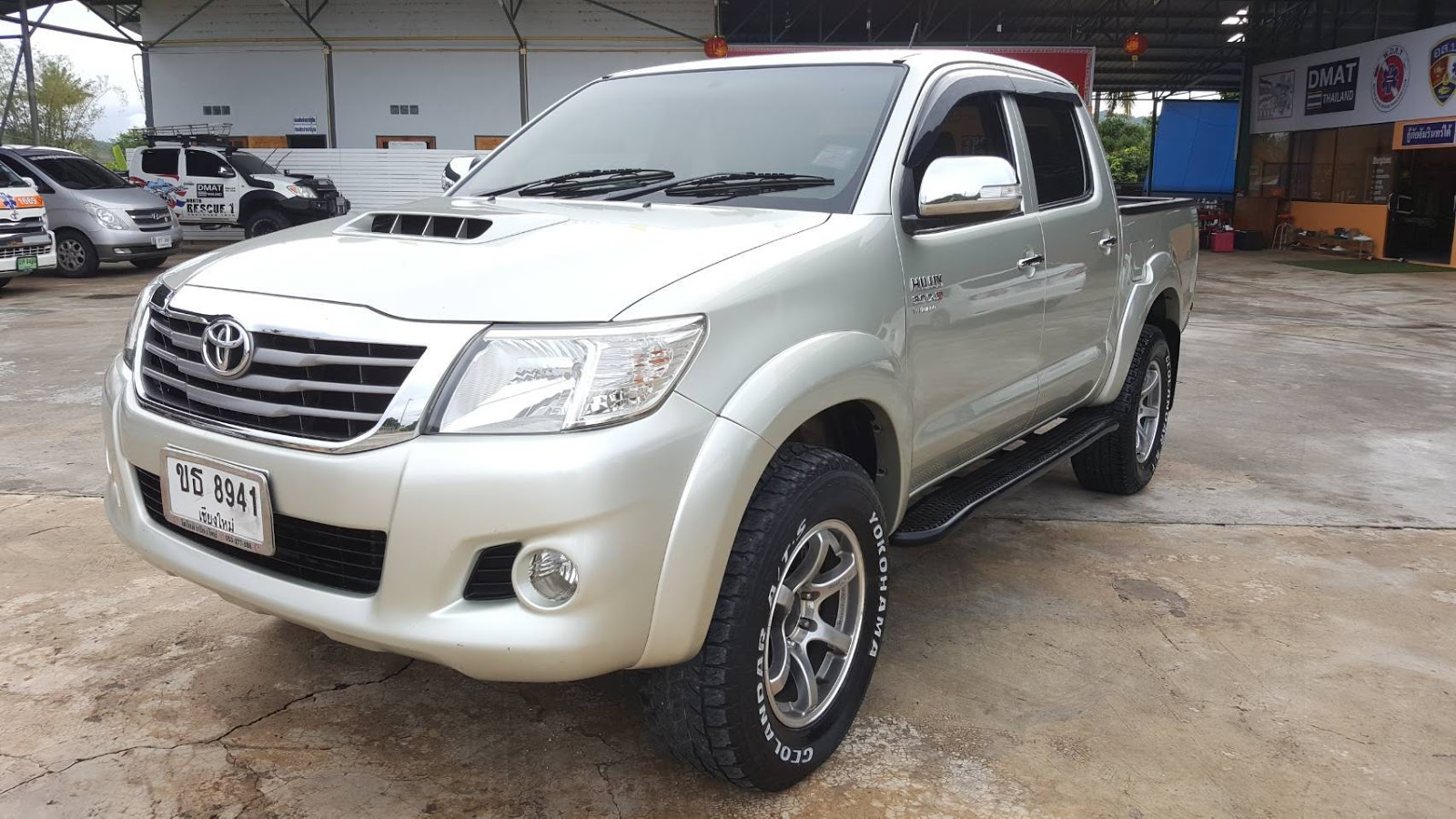 2013 Toyota Hilux Vigo Diesel Double Cab 4wd For Kenya To