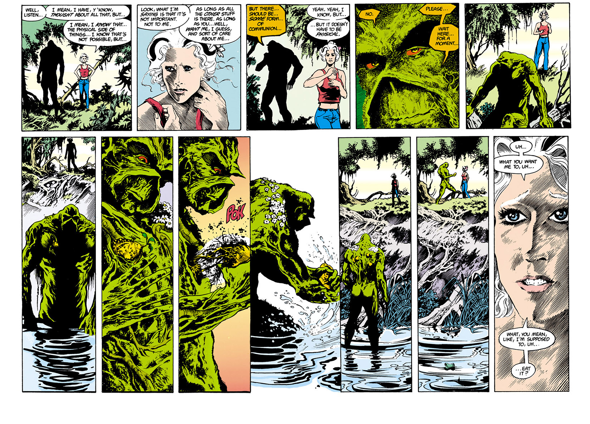Swamp Thing (1982) Issue #34 #42 - English 10