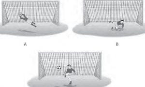 Menangkap Bola / Goal Keeping