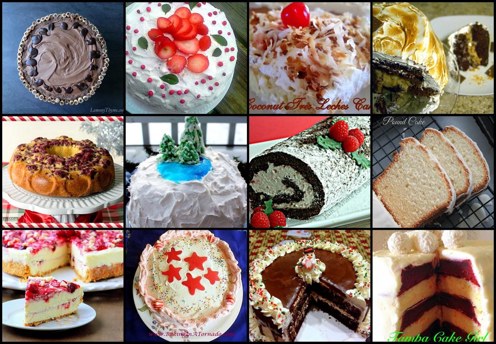 12 Cakes of December – Recipe Round Up