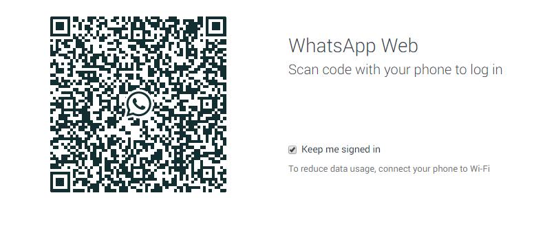 Use Whatsapp in Google Chrome