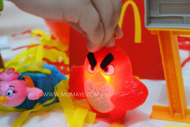 Light-Up Red Angry Birds