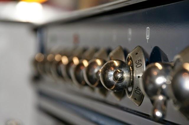 El horno de la cocina de la abuela