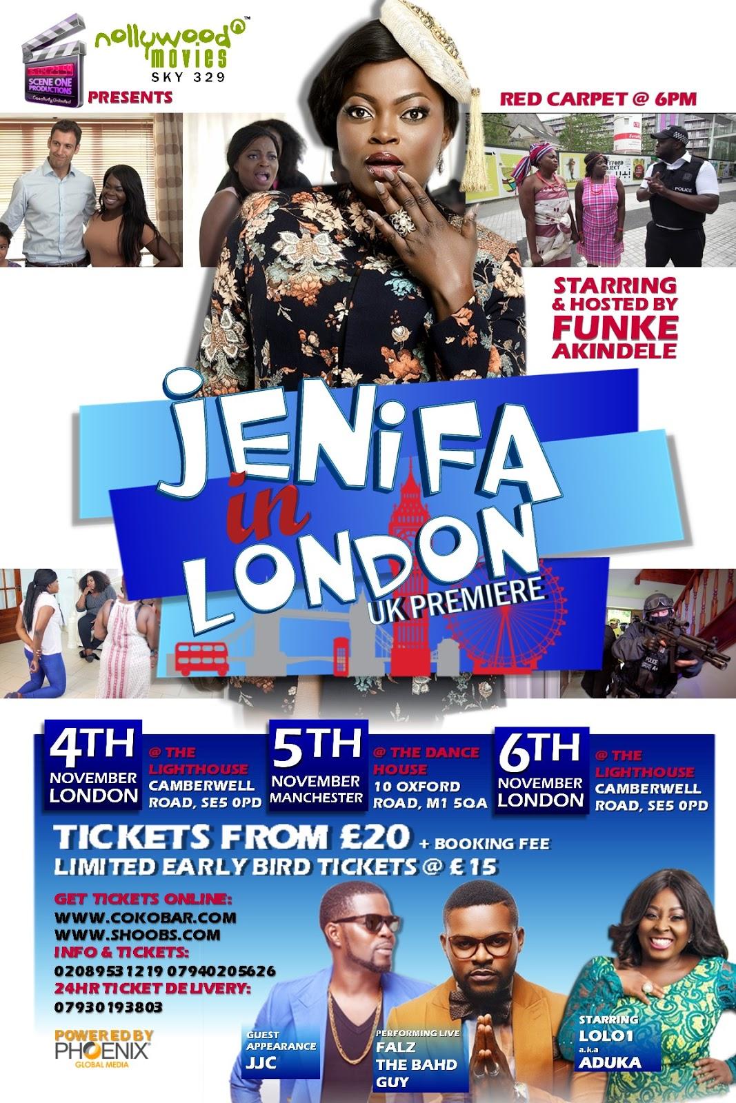 Jenifa in London November 4th 2016